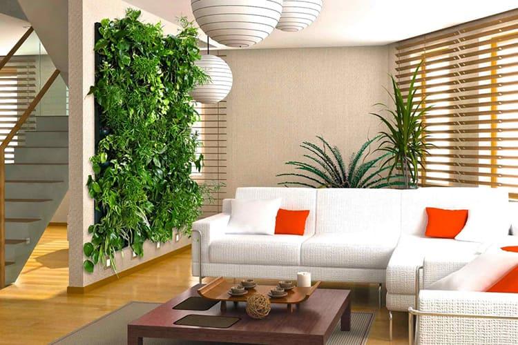 Зелёные стены обычно устраивают напротив окна. Они очень освежают интерьер и могут стать его изюминкой