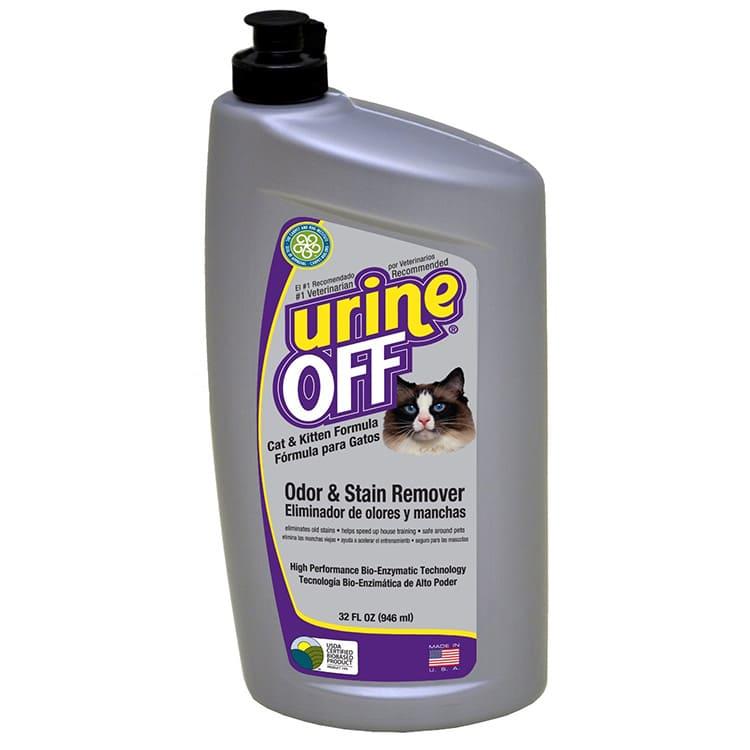 Состав Urine-off Cat & Kitten, в основном, натуральный, без токсических веществ, поэтому является безопасным.