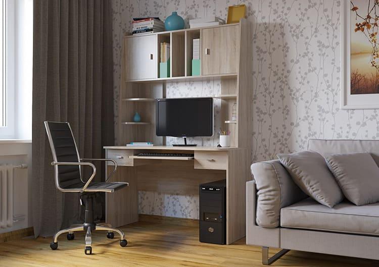 Надстройки не только увеличивают функциональность стола, но и повышают комфортность работы за ним