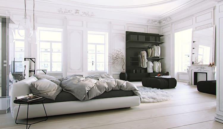 Скандинавский стиль в сочетании с классикой – характерная цветовая палитра и особенности в оформлении стен