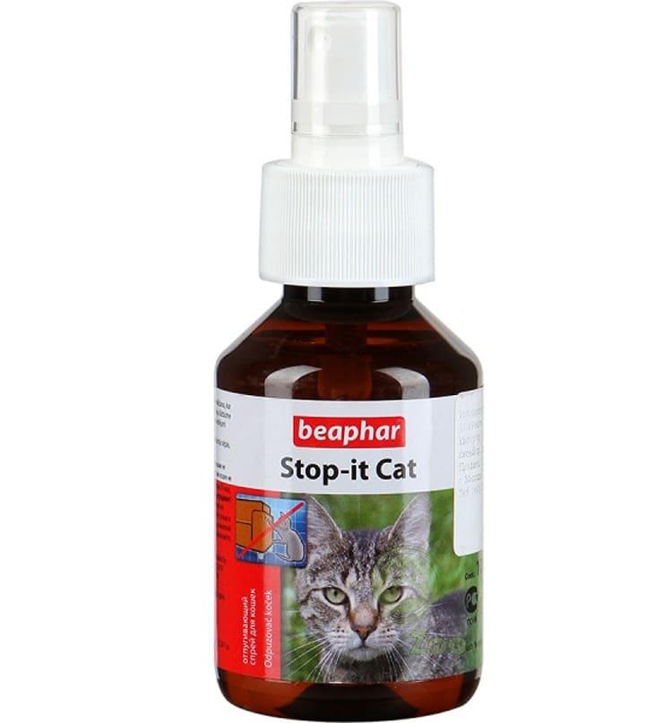 «Beaphar Stop-it Cat» – также популярное средство с хорошими отзывами.