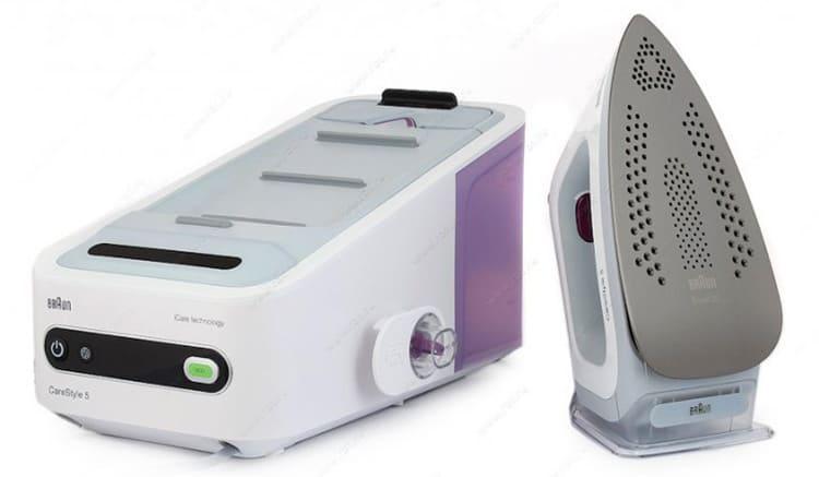 Braun IS 5043WH. Модель отличается компактностью, имеет автоматический терморегулятор. Выброс пара хорошей мощности