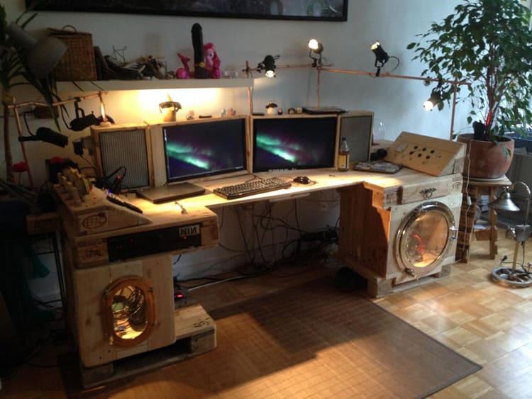 Сделанный своими руками игровой компьютерный стол