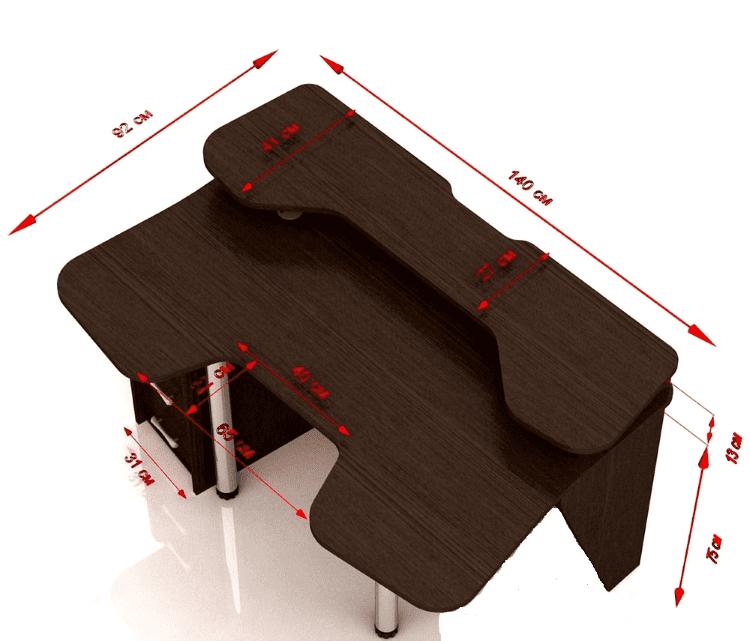 Простой стол для геймера