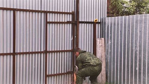Откатные ворота своими руками: экономим на вызове бригады