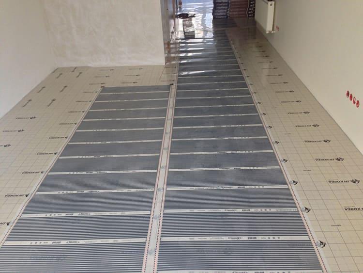 Инфракрасный тёплый пол для плитки – оптимальный вариант для квартиры