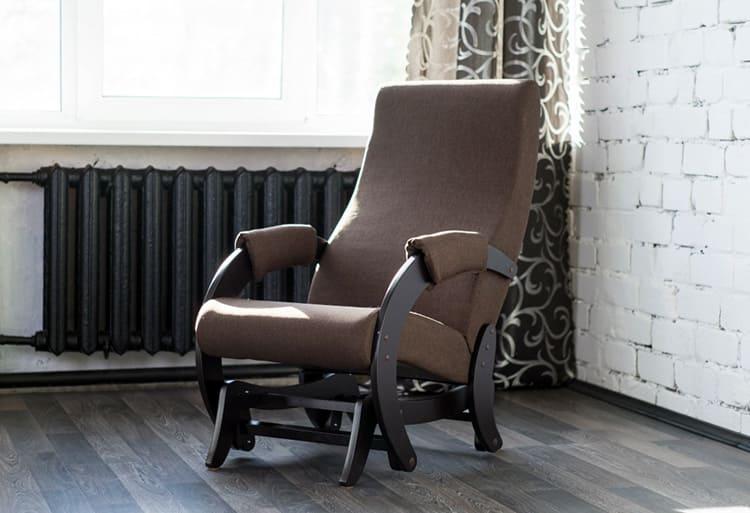 Кресло с глайдерной системой качения