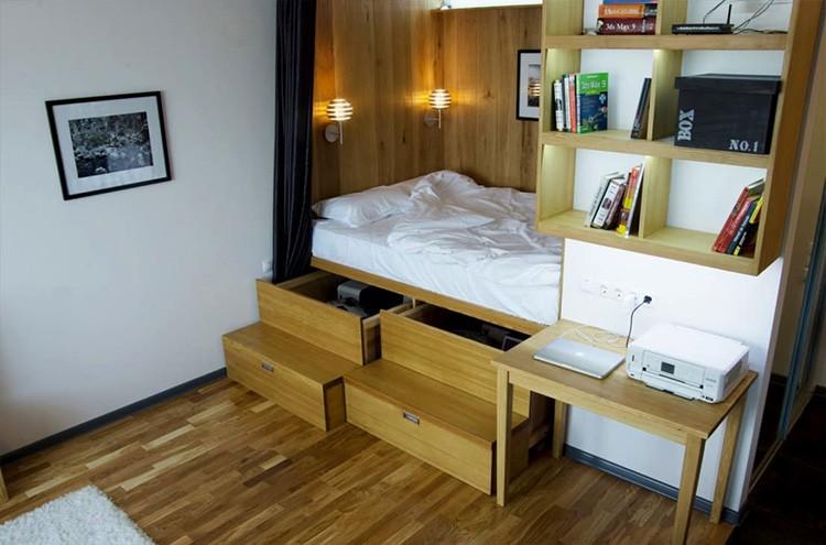 Подобные кровати отличаются разнообразием конструкций