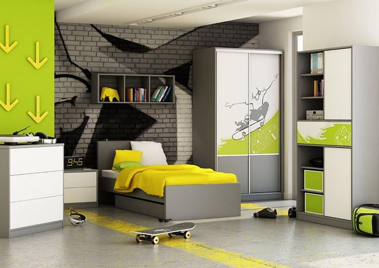 Контрастные цвета, динамичные формы и экспрессивная палитра – вот что присуще этому направлению дизайна.