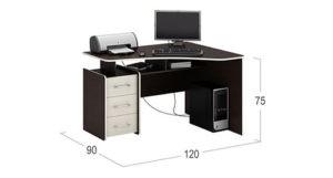 Компьютерный стол Мастер Триан-5