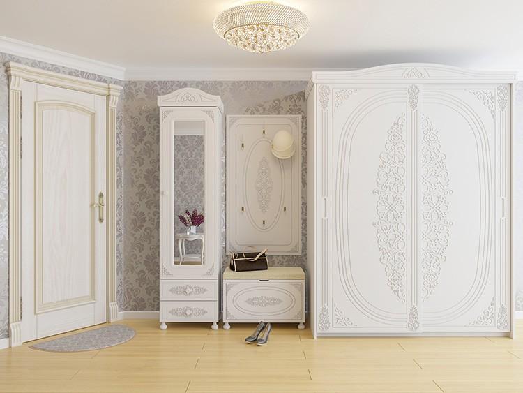 Где как не в спальне разместить гардеробный шкаф?