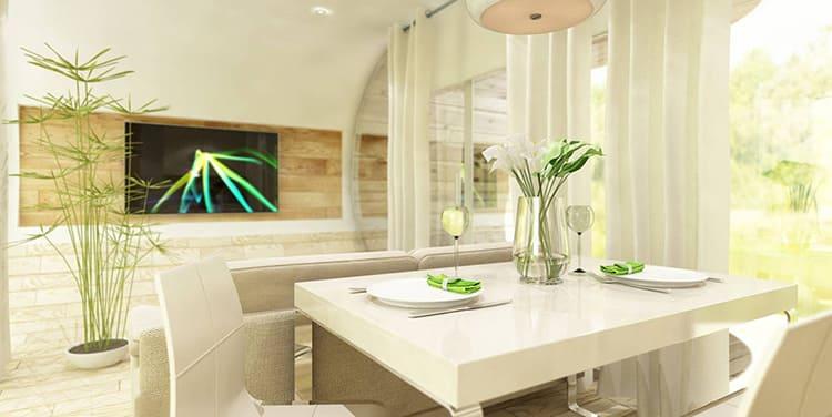Кухня-гостиная в Lodget mini