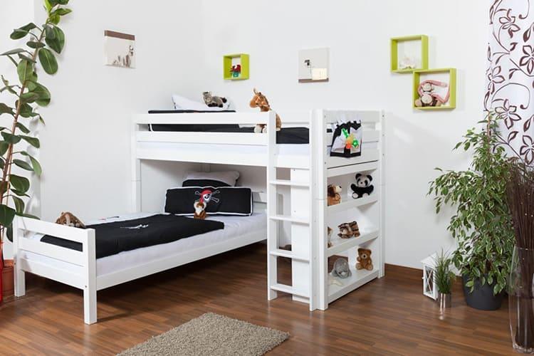 Перпендикулярное размещение спальных мест