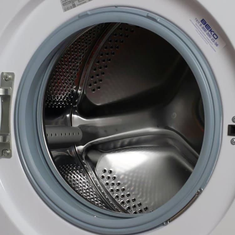 Особая конфигурация барабана сохраняет целостность волокон ткани