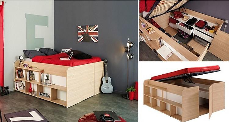 Устройство кровати комода с откидным спальным местом