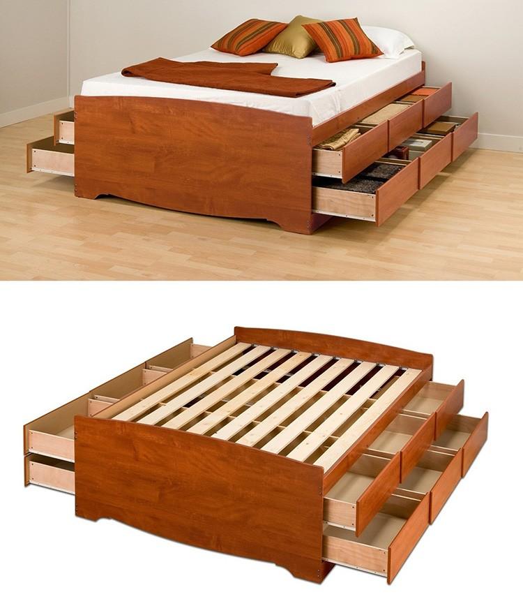 Каркас кровати-комода