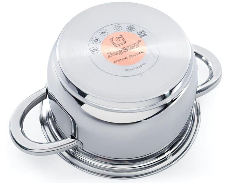 Дно кастрюли для индукционной плиты должно быть идеально ровным.