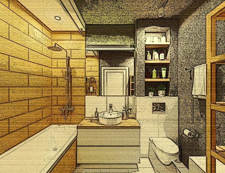 Даже небольшое помещение можно обставить так, что оно не будет казаться тесным.