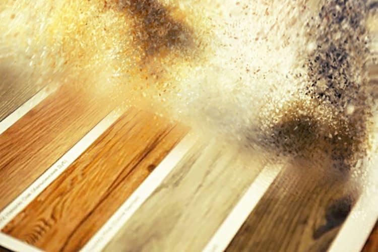 Пол из плитки ПВХ – стильное решение для любого интерьера.
