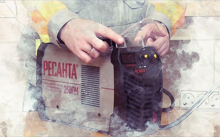 Ресанта – популярная линейка сварочных аппаратов для бытовых нужд