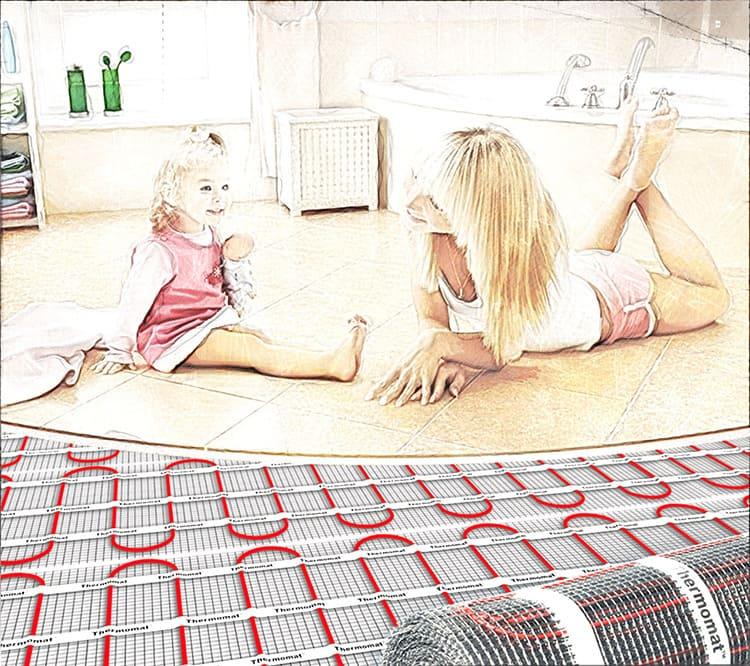 Тёплый электрический пол – всегда комфортные условия.