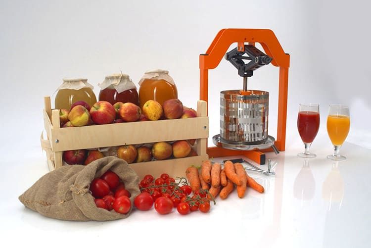 Для небольшой работы на кухне достаточно винтового пресса на 3-5 л. Если вам нужно отжать сок из яблок или винограда для заготовки детского питания, этого объёма будет достаточно.