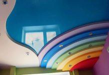 Добавим стиля каждой комнате или какие бывают двухуровневые натяжные потолки