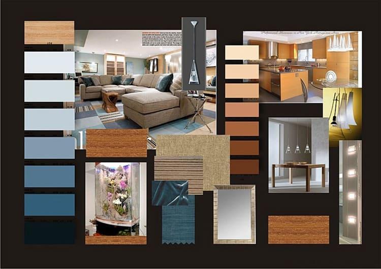 Выбор цветового решения в дизайн-проекте