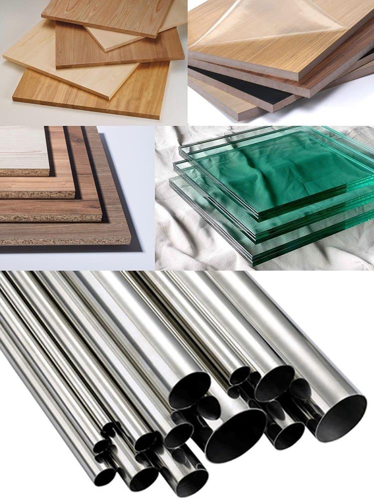 Материалы для изготовления угловых компьютерных столов
