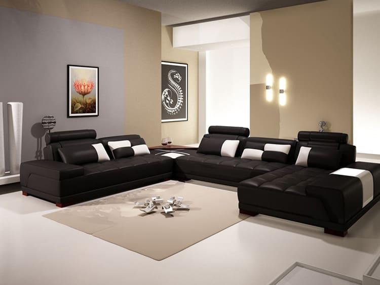 Специфичность обстановки можно подчеркнуть мебельной обивкой с несложным графическим принтом – контрастной полоской, прямоугольным зигзагом
