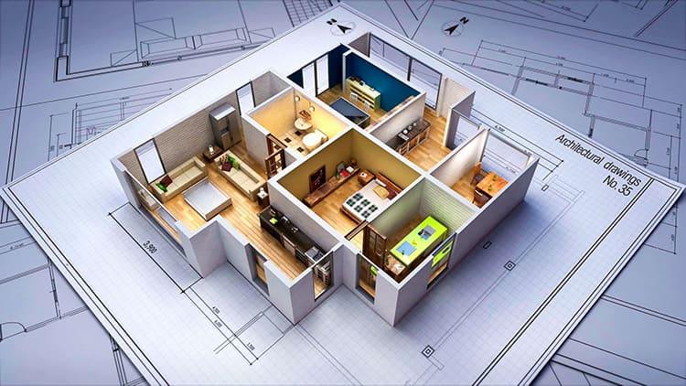 Дизайн-проект позволит увидеть, как будет выглядеть дом или квартира после ремонта