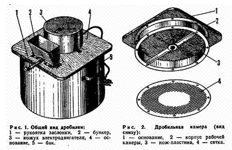 Схема устройства с двигателем от пылесоса