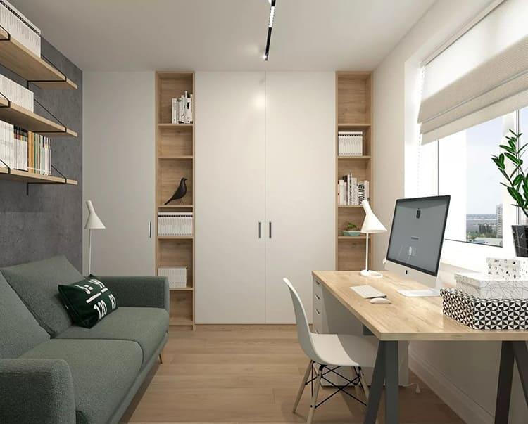 При значительных размерах помещения органично впишется в обстановку стильный диван или кресло для отдыха