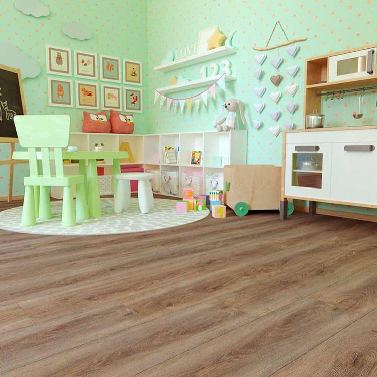 Возможна укладка в детских комнатах.