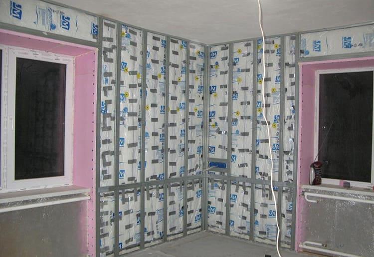 Утепление стен позволит поднять температуру воздуха в квартире зимой на 3-5°C