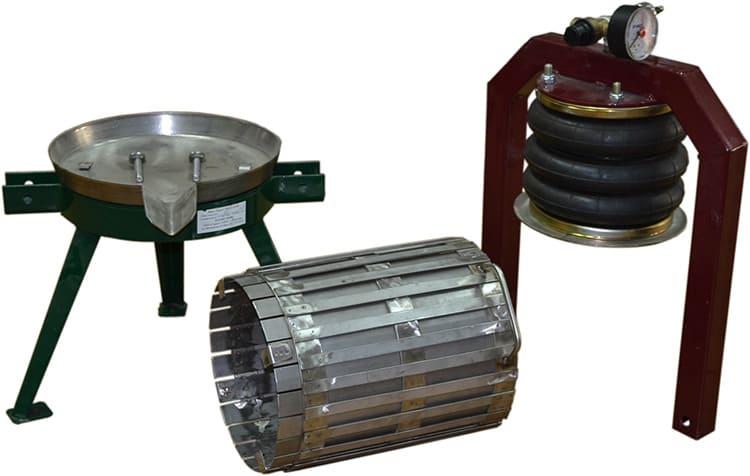 Пневматические устройства отличаются большой производительностью, до 200 л в час и высоким качеством конечного продукта.
