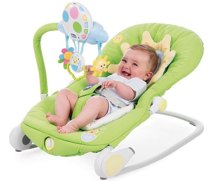 Малыш должен быть надёжно зафиксирован в кресле.