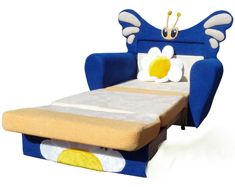 Детским креслом-кроватью лучше пользоваться лишь время от времени