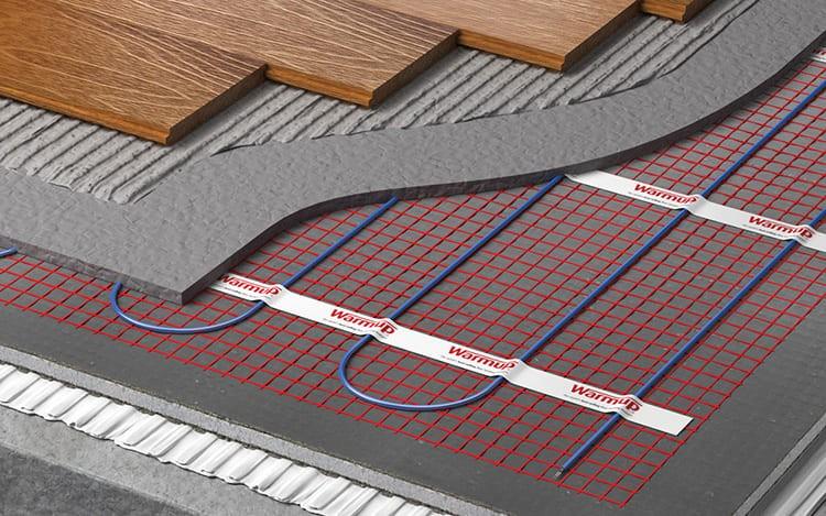 Система «тёплый пол» предполагает наличие определённых слоёв.
