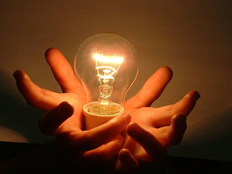 Обычная лампа накаливания дает не только свет, но и тепло. Не зря их используют в инкубаторах.