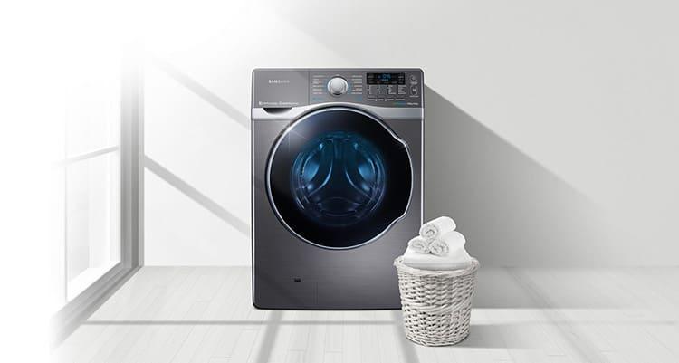 После стирки в стиральной машине Самсунг серии WD бельё уже сухое