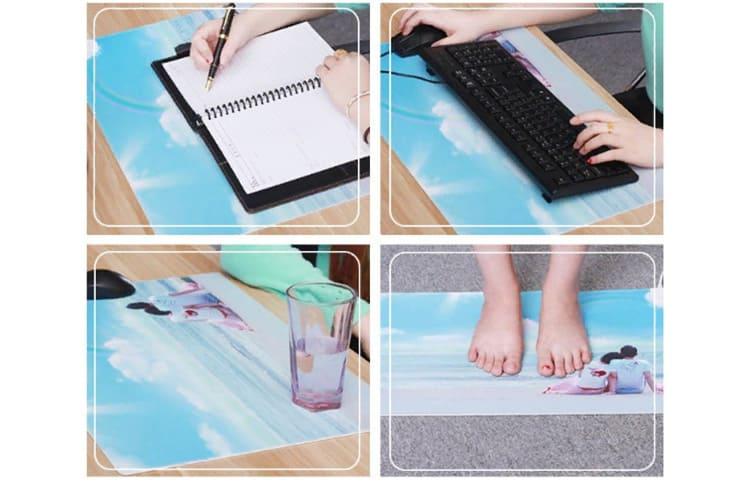 Гаджет может быть использован в качестве обогревателя для ног.