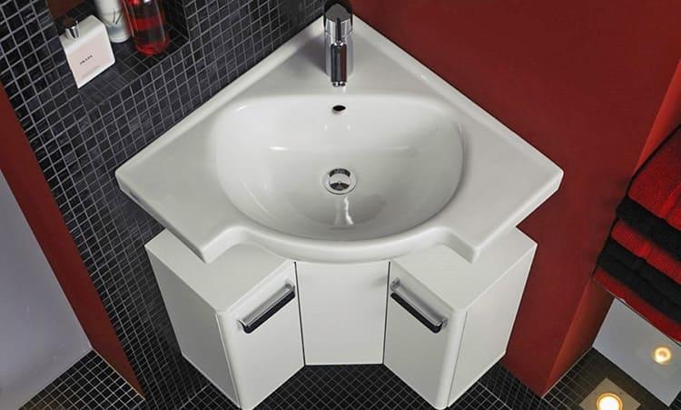 Подобные раковины предназначены для мытья рук и могут иметь размеры всего 40х50 см.