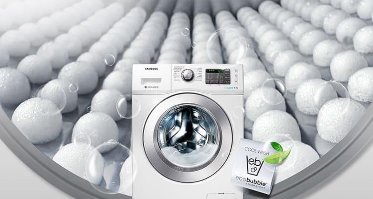 Eco Bubble – пузырьки воздуха улучшают качество стирки