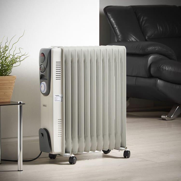Масляный радиатор станет лучшим другом в холода.