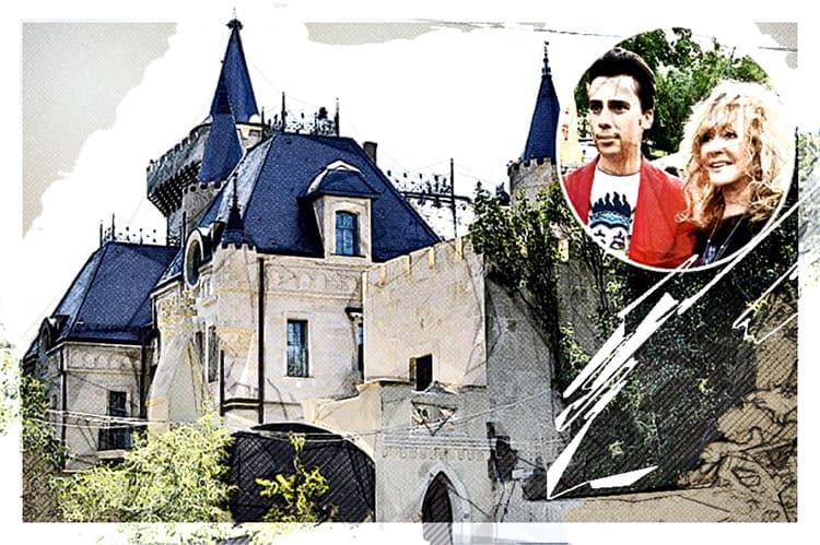 Четырёхэтажный замок Галкина и Пугачёвой.
