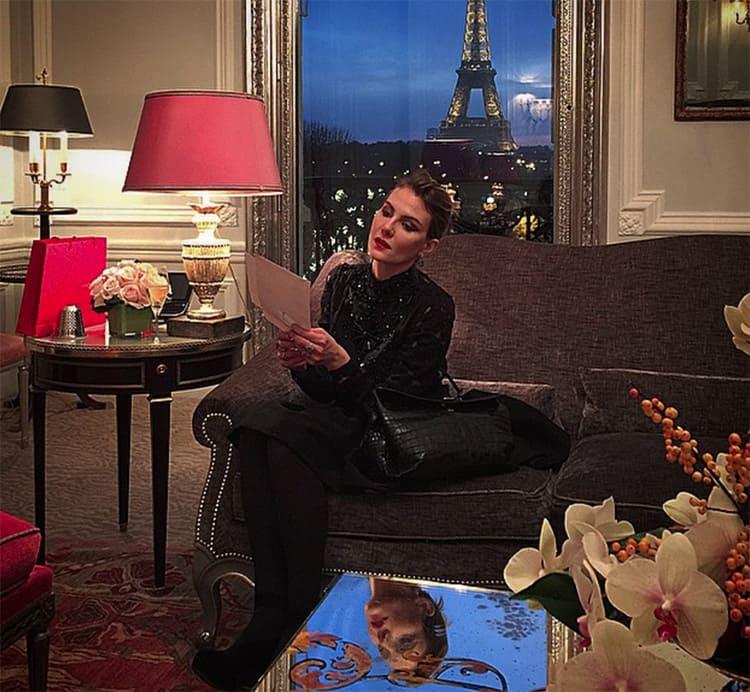 Комфортный интерьер парижской квартиры.