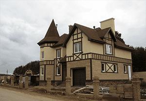 Дом Дмитрия Нагиева в поселке «Княжье озеро».