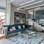 Апартаменты Александра Маршала: минимализм в стекле