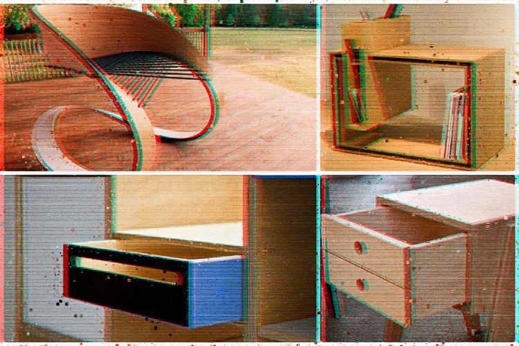 Из фанеры изготавливают самую разную мебель